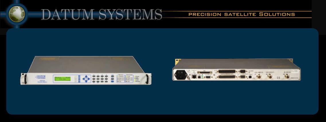 Datum Systems PSM-500 IF-Band Satellite Modem