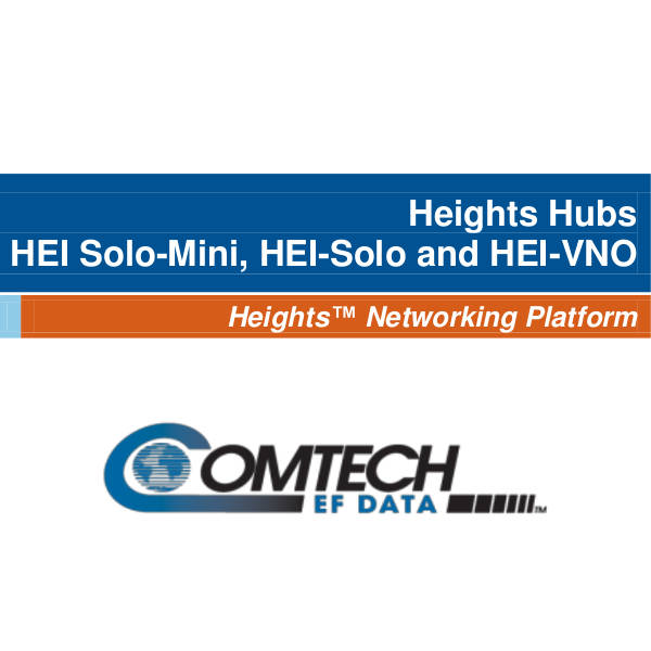 Heights Hubs – HEI Solo-Mini