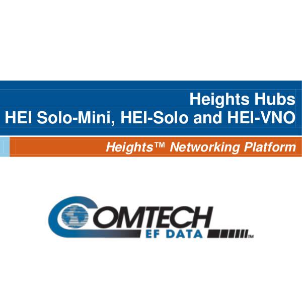 Heights Hubs – HEI Solo-Mini