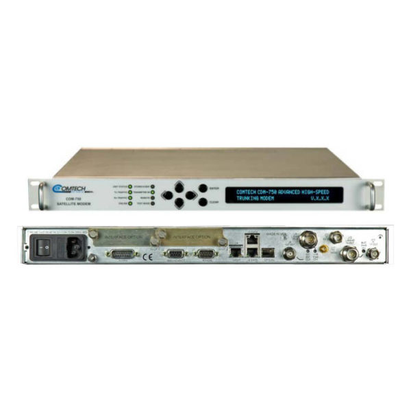 CDM-750 Advanced High-Speed Trunking Modem