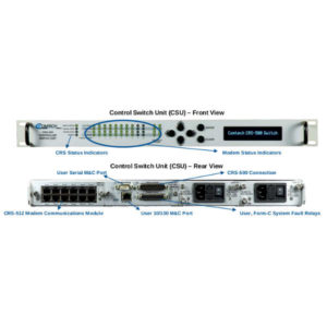 Modems CRS-500 1:N Modem Redundancy SystemReduncancy Switches