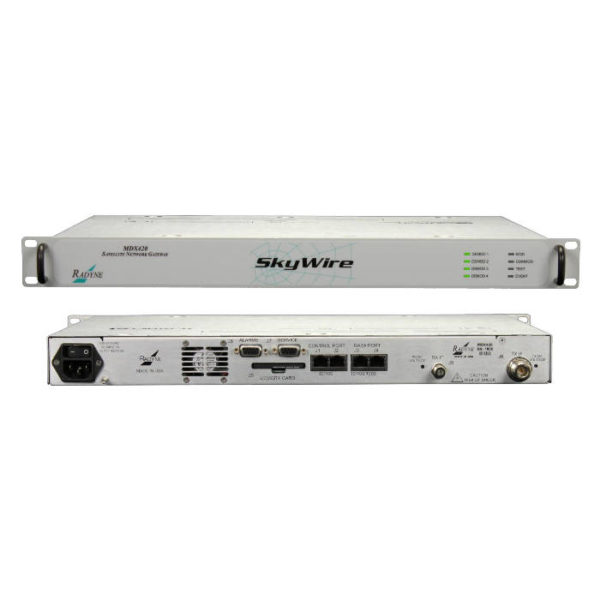 SkyWire MDX420 Satellite Network Gateway