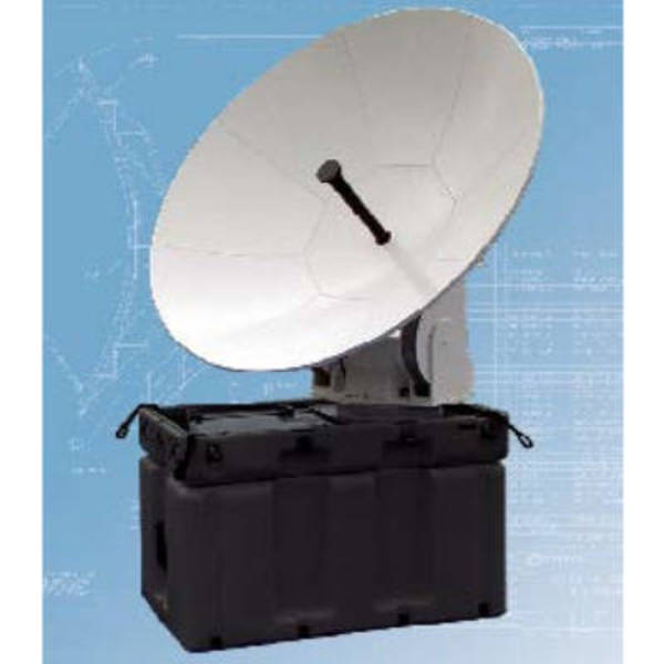 Quick Deploy Antennas Model 1.2m Quick Deploy Motorized Auto-Acquire Antenna