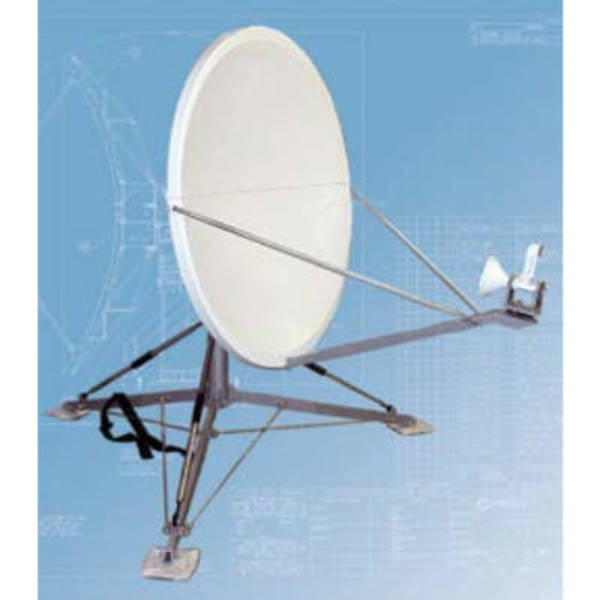 Quick Deploy Antennas Model 1138 1.2m QD Quick Deploy Antenna