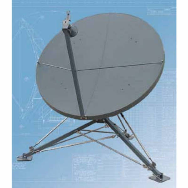 Quick Deploy Antennas Model 1189 1.8m QD Quick Deploy Antenna
