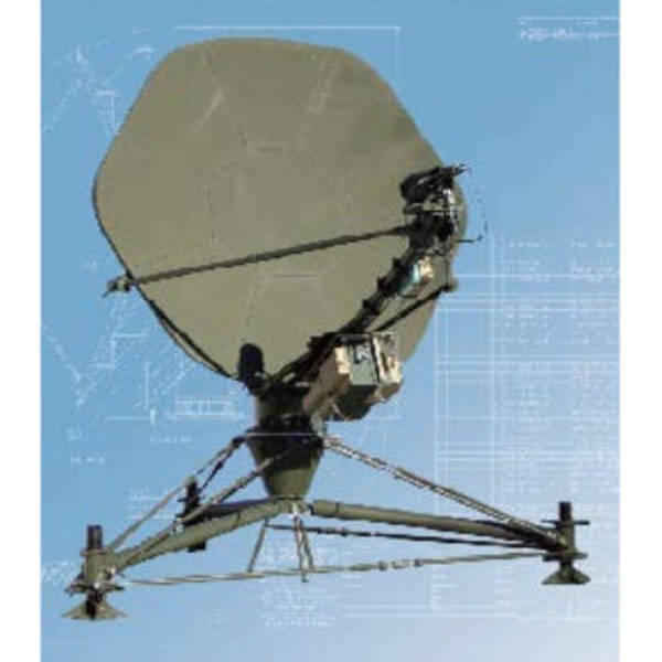 Flyaway Antennas Model C240FW High Wind Transportable Antenna