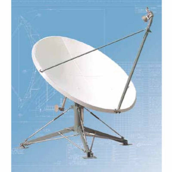 Quick Deploy Antennas Model 1259 2.4m QD Quick Deploy Antenna