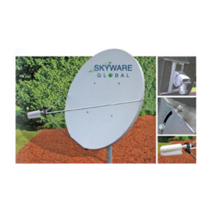 VSAT Antennas 2.4M C-Band Linear Class III - 243Rx Only Antennas