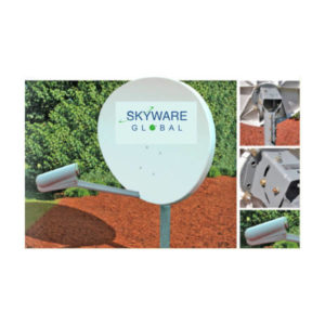 VSAT Antennas 84cm Ku-Band Elliptical - 845Rx Only Antennas
