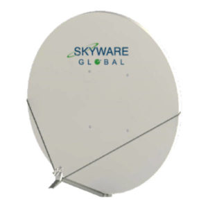 VSAT Antennas 2.4M BSS-Band Class I - 243Rx/Tx Antennas