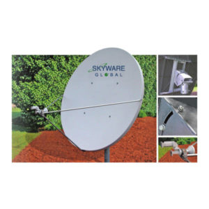 VSAT Antennas 1.8M C-Band Linear Class I - 180Rx/Tx Antennas