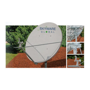 VSAT Antennas 1.8M C-Band Linear Class III - 183Rx/Tx Antennas