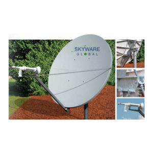 VSAT Antennas 2.4M C-Band Circular Class III - 243Rx/Tx Antennas