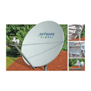 VSAT Antennas 2.4M C-Band Linear Class III - 243Rx/Tx Antennas