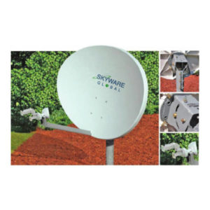 VSAT Antennas 84cm Ku-Band Elliptical RT - 845Rx/Tx Antennas