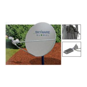 VSAT Antennas 96cm Ku-Band Class I - 961Rx/Tx Antennas