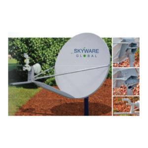 VSAT Antennas 96cm Ku-Band Class II - 960Rx/Tx Antennas