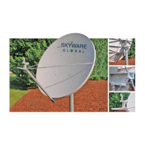 VSAT Antennas 2.4M Ku-Band Class III - 243Rx/Tx Antennas