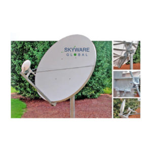 VSAT Antennas 2.4M Ku-Band Dual Optics - 244Rx/Tx Antennas