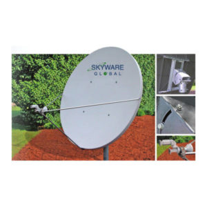 VSAT Antennas 1.8M Ext Ku-Band Class I - 180Rx/Tx Antennas