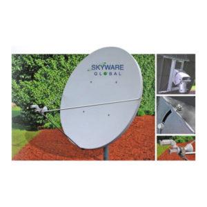 VSAT Antennas 1.8M Ext Ku-Band Class I - 180Rx/Tx Antennas