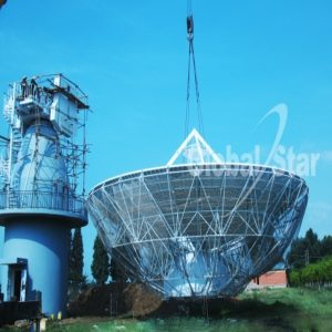 Earth Station Antennas GS16.0M Rx AntennaRx Only