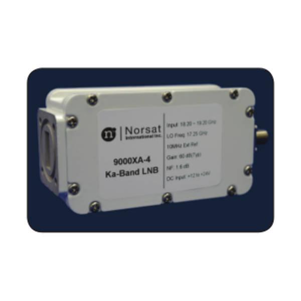 LNB Ka-Band Ext Ref 9000X-4