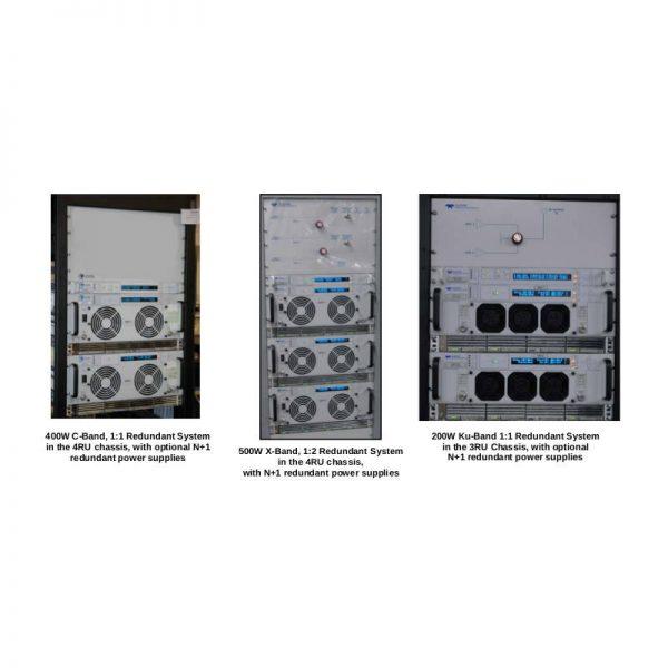 Indoor Rack Mount Redundant SSPA Systems