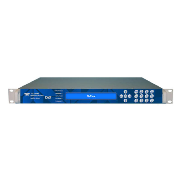 Q-Flex Satellite Modem Rack-mount Point-to-Point