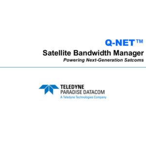 Modems Q-NET Satellite Bandwidth ManagerNetwork Management