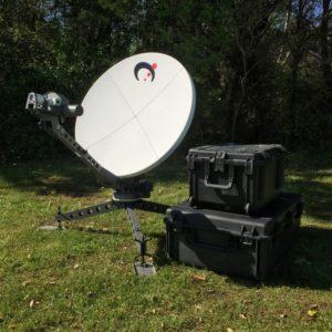 Flyaway Antennas 1033 Celero Flyaway AntennaMobile VSAT
