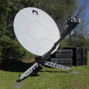 1821 Agilis flyaway carbon fiber antenna