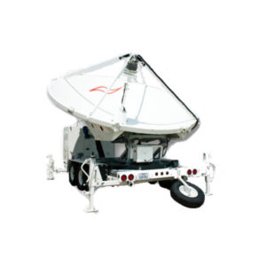 Earth Station Antennas 3.9m Trifold Transportable Antenna