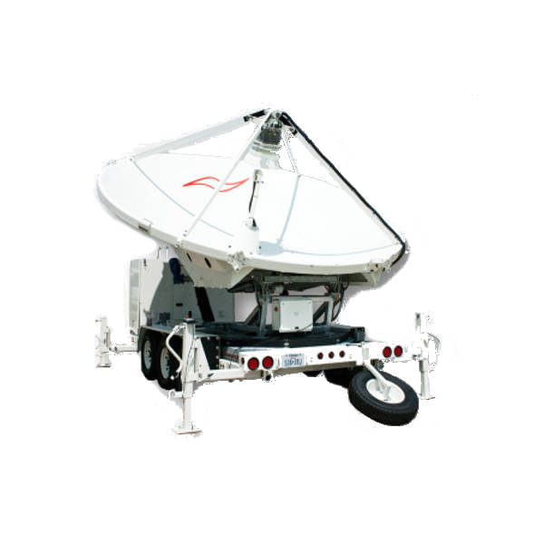 3.9m Trifold Transportable Antenna