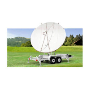 Earth Station Antennas 4.5m Trifold Transportable Antenna