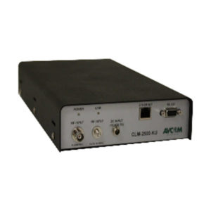 Spectrum Analyzers Compact Spectrum Analyzer Dual Channel 5-2500 MHz (C- Ku Band)Remote Monitoring