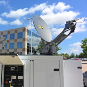 Vehicle Mount Antennas 1.0m Vehicle-Mount / DriveAway Mobile VSATMobile VSAT