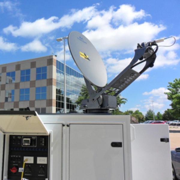 1.0m Vehicle-Mount / DriveAway Mobile VSAT