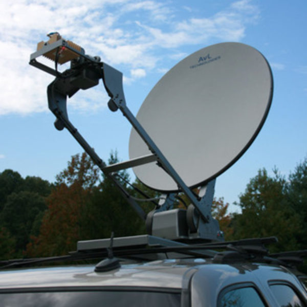 1.2m Low-Stow Vehicle-Mount / DriveAway Mobile VSAT