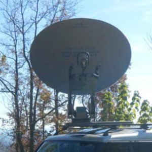 Vehicle Mount Antennas 1.5m Vehicle-Mount / DriveAway Mobile VSATMobile VSAT