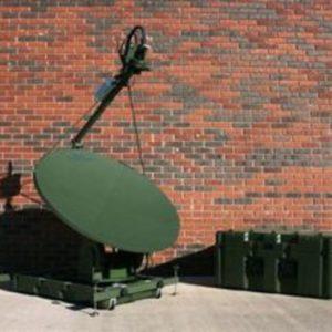 Flyaway Antennas Model 1.2m 1248FA Mobile VSAT FlyAway AntennaMobile VSAT