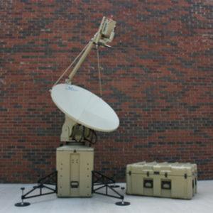 Flyaway Antennas Model 1.2m 1268FA Premium Dual-Band Mobile VSAT FlyAway AntennaMobile VSAT