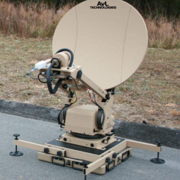 Model 85cm 1080FA FlyAway Mobile VSAT Antenna