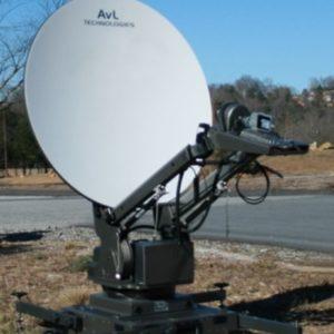 Flyaway Antennas Model 1.0m 1080FA Mobile VSAT FlyAway AntennaMobile VSAT