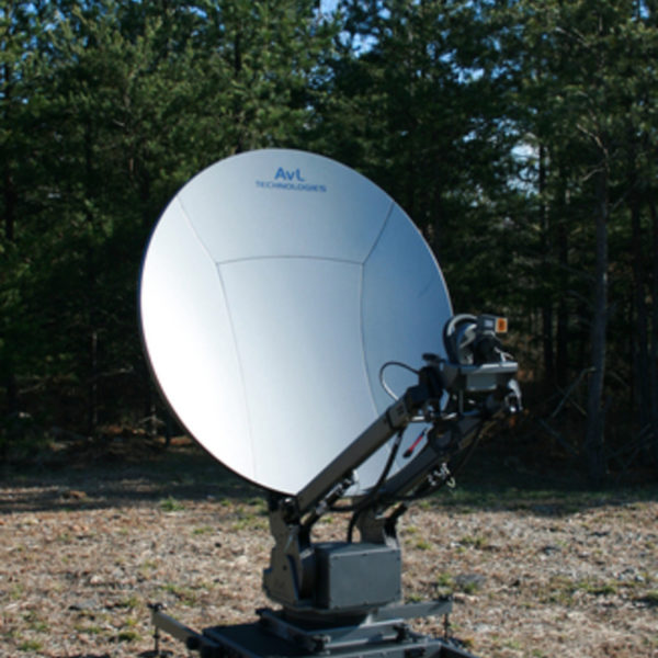 Model 1.2m 1080FA FlyAway Mobile VSAT Antenna