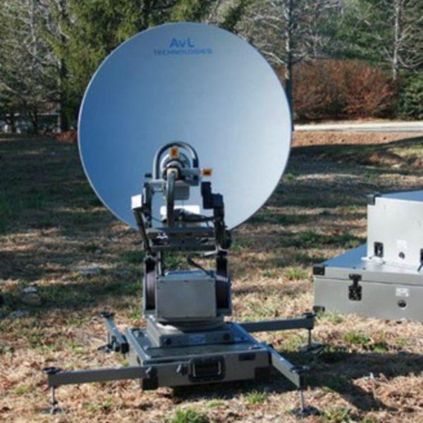 Model 85cm 1098FA Fly & Drive Mobile VSAT Antenna