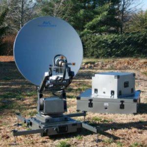 Flyaway Antennas Model 1.0m 1098FA Fly & Drive Mobile VSAT AntennaMobile VSAT