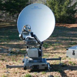 Flyaway Antennas Model 1.2m 1098FA Fly & Drive Mobile VSAT AntennaMobile VSAT