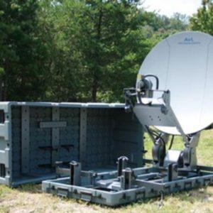 Flyaway Antennas Model 1.2m 1278FD Fly & Drive Mobile VSAT AntennaMobile VSAT