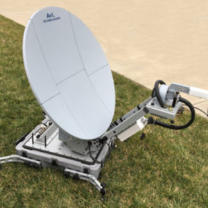 Flyaway Terminals Model 824i 85cm Integrated Auto-Acquire FlyAway TerminalMobile VSAT